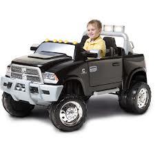 Dodge Ram w/ Cummins Diesel Power Wheels! Even sounds like a Turbo Cummins!