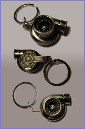 Turbo Key Chain That Actually Spins!