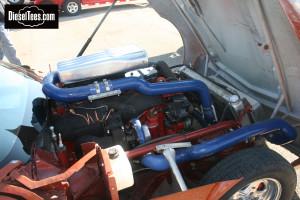 1968 Corvette with a Cummins 12V Diesel Engine NHRDA Champion