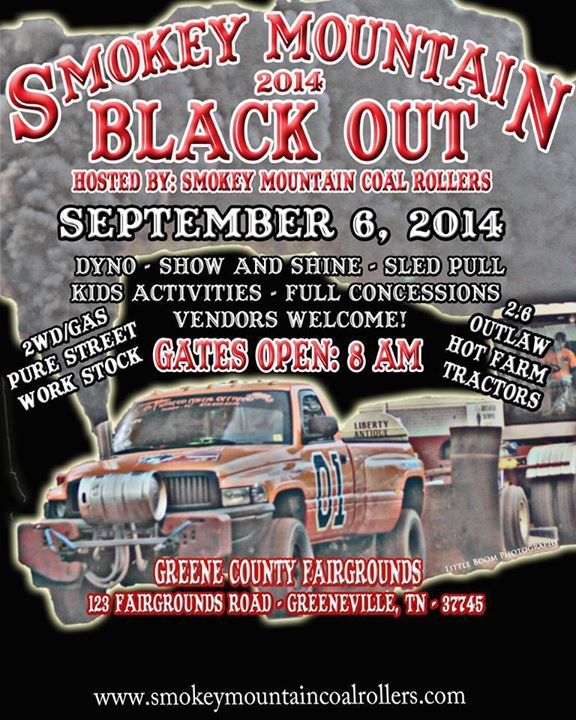 1896760 664312216965608 1296154441 n Smokey Mountain Black Out 2014 Diesel Truck Event