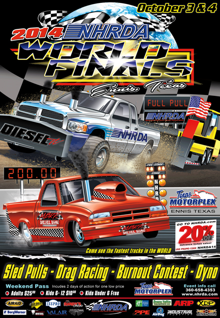 World Finals 2014 450 2014 NHRDA World Finals Info  Diesel Truck Pulls and Drag Races